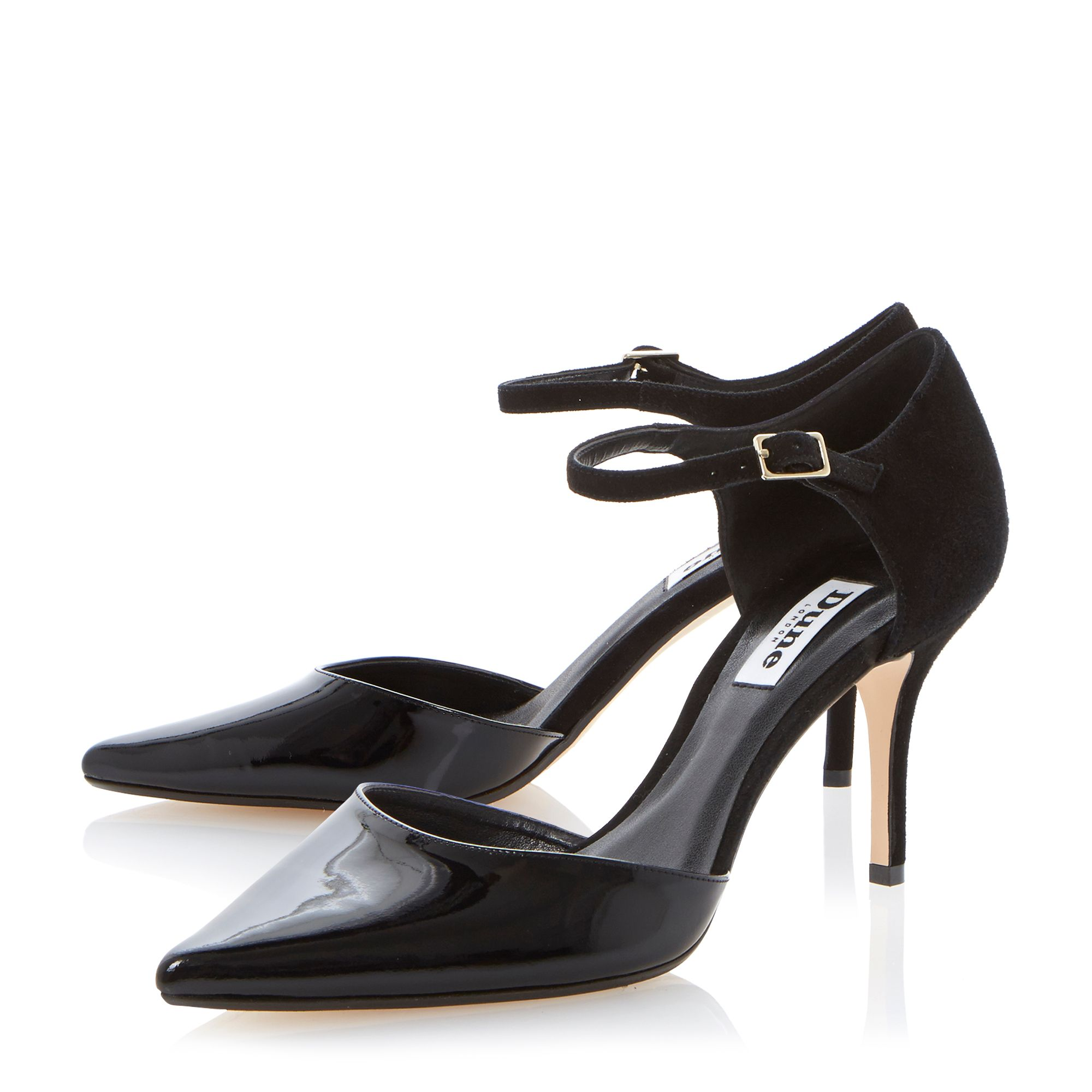 Claudia two part high court shoes