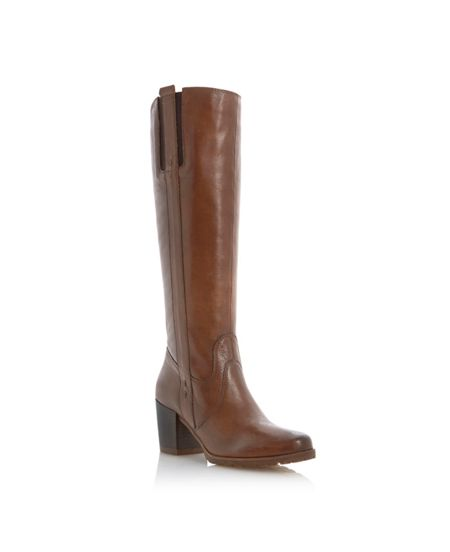 Linea Toulousa Leather Knee High Boot