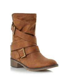 Ravello Shearling Lined Calf Boots