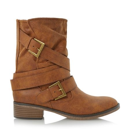 Head Over Heels Ravello Shearling Lined Calf Boots