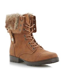 Camelot Lace Up Calf Boot