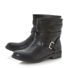 Parsons Strap and Buckle Detail Boot