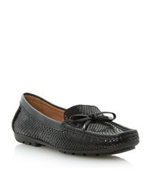 Lispers Bow Loafers