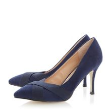 Alliya Crossover Strap Court Shoe