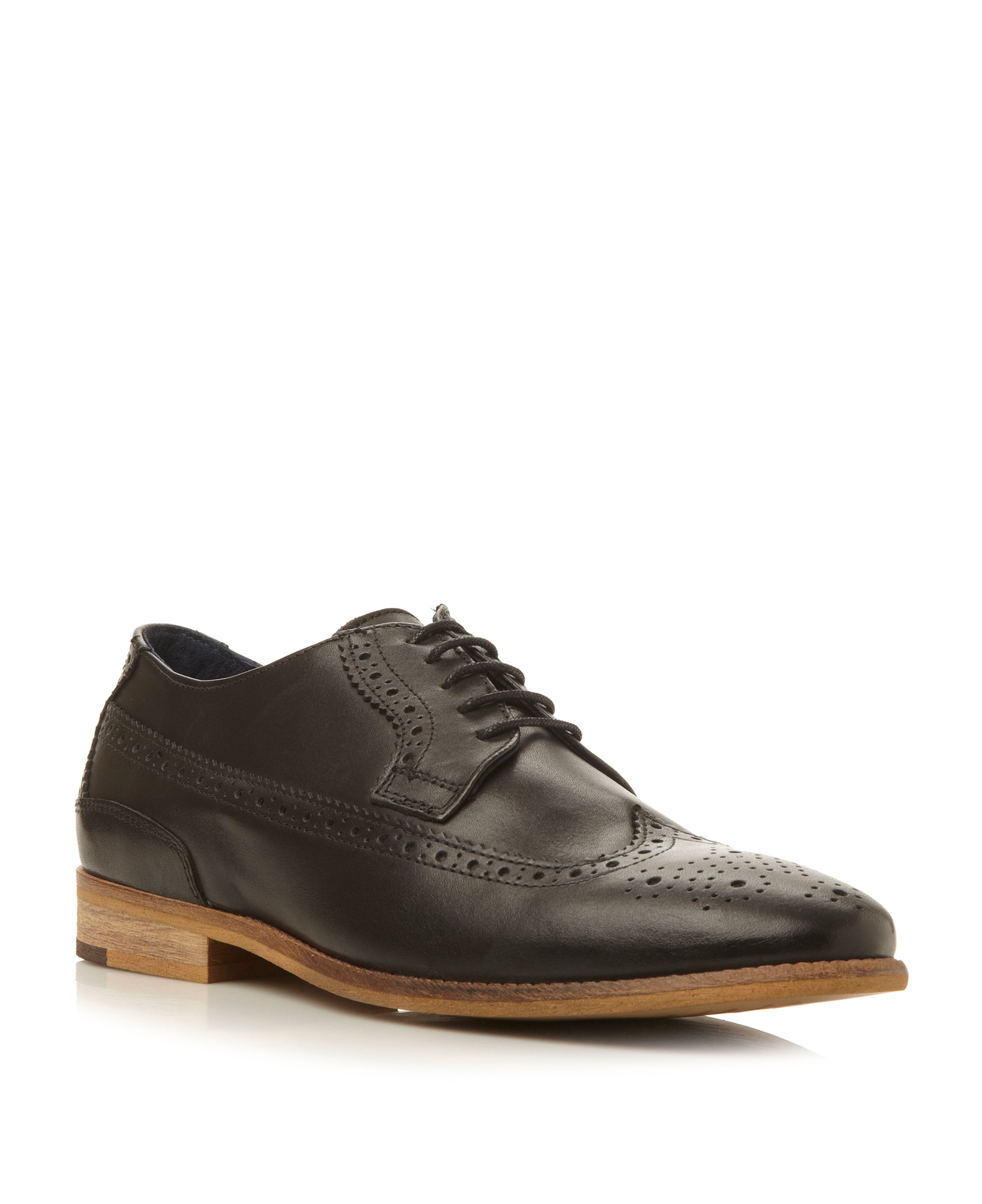 Raston natural sole brogues