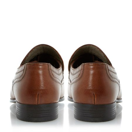 Howick Research plain vamp elasticated loafers