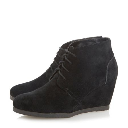 dune pippah suede wedge desert boot house of fraser
