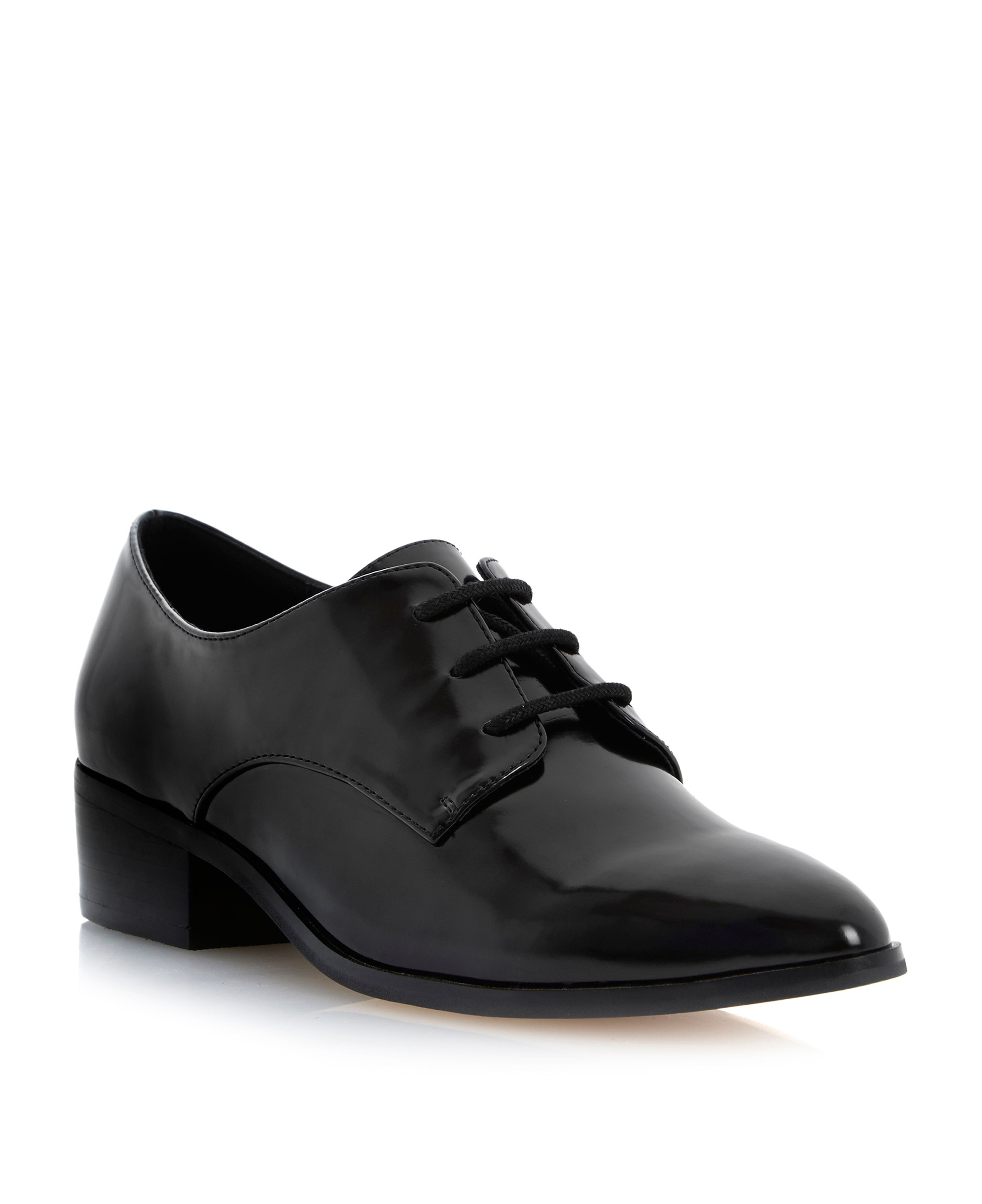 Loris point lace up shoes