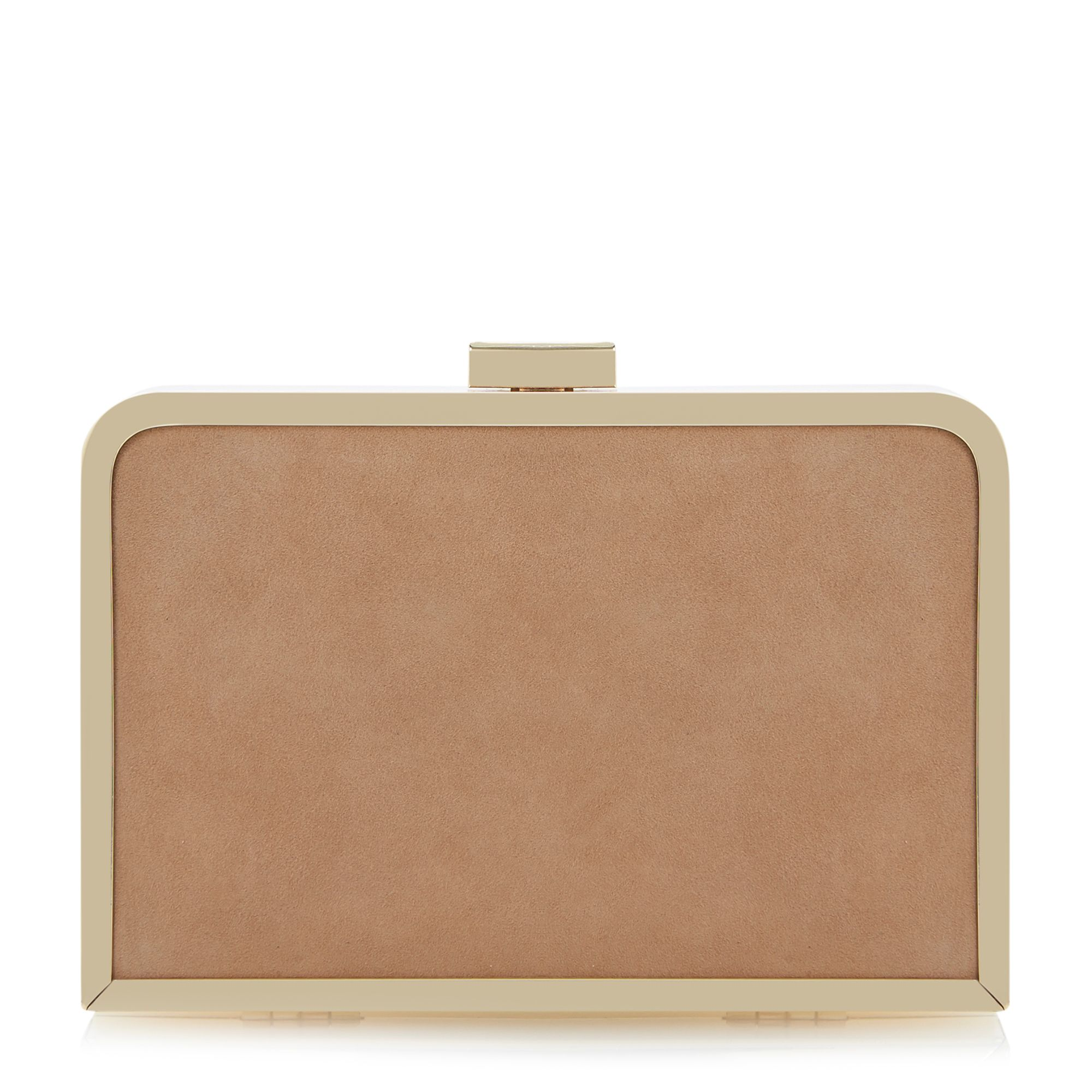 Ecage cut out detail clutch bag