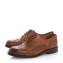 Lockett leather lace up brogues