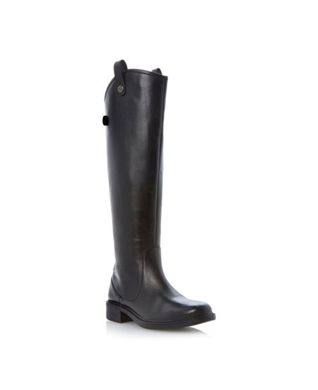 Bertie Teddy Leather Riding Boot