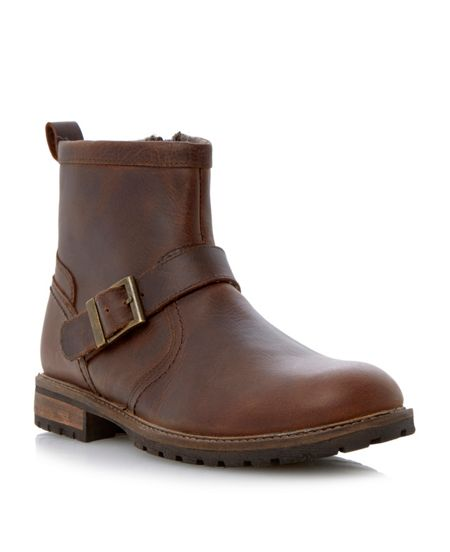Howick Charged buckle zip boots