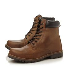 Canfield lace up cleated worker boots