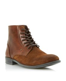 Canapy suede lea lace boots