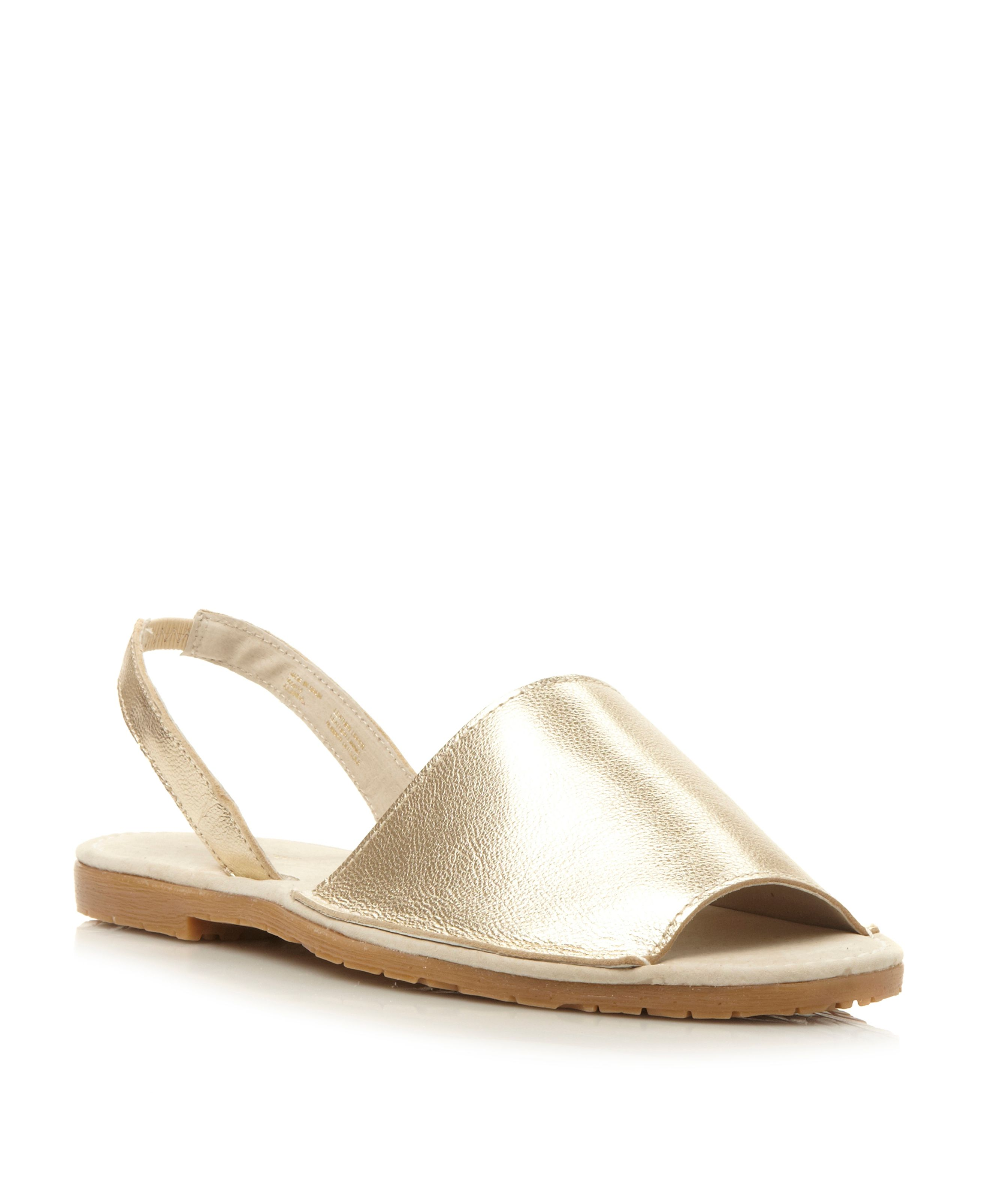 Jolana flat two part sandals
