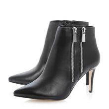 Namedrop Double Zip Ankle Boot