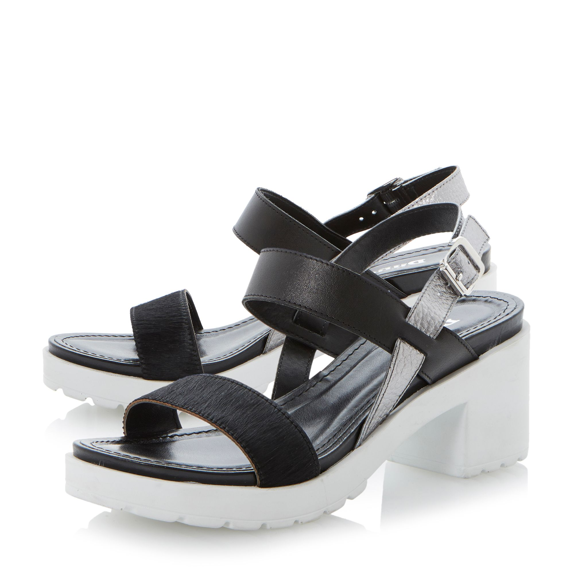 Fibie block heel sandals