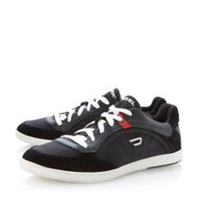 Starch logo lace up trainers