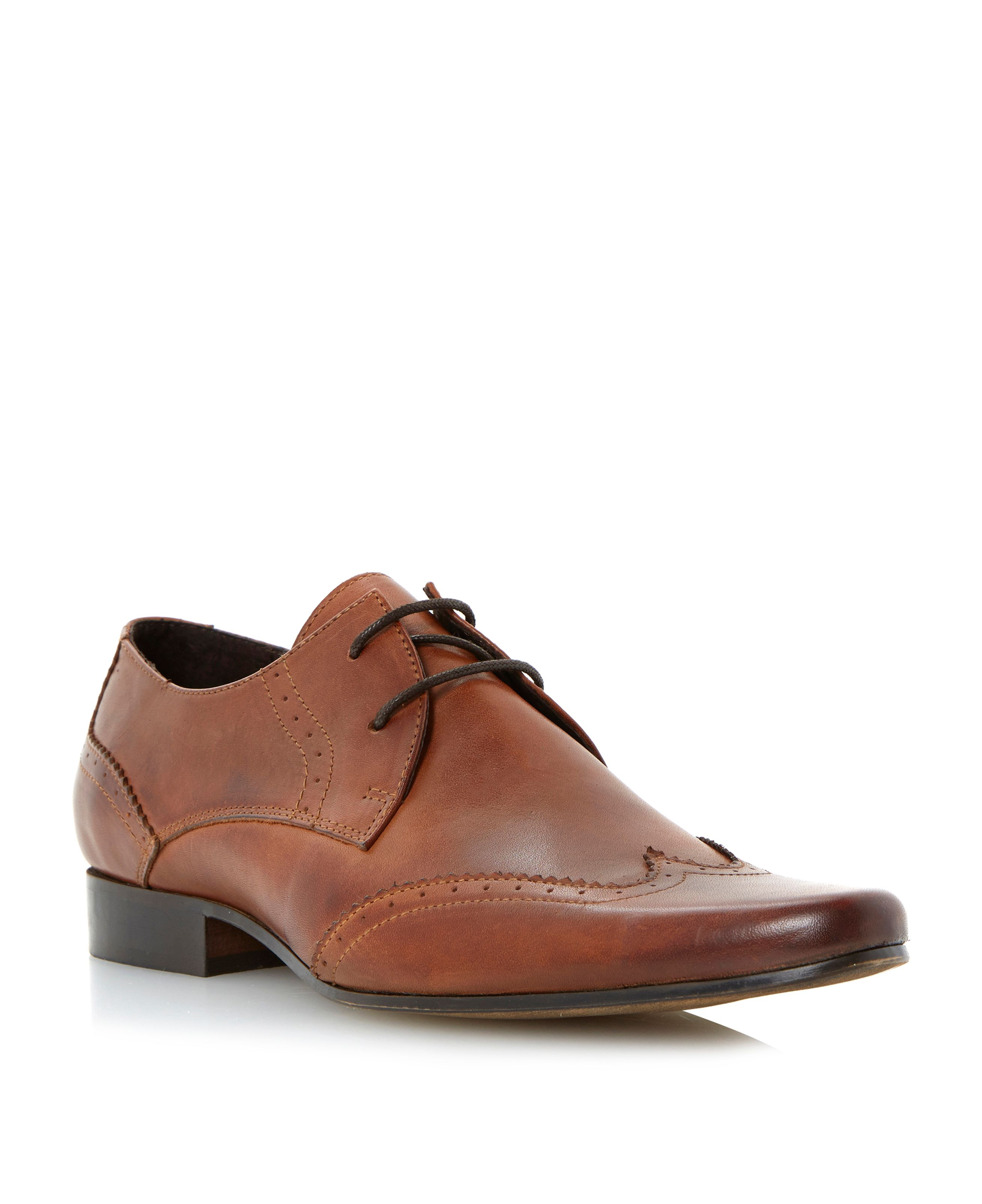 Rascal lace up brogue gibson shoes
