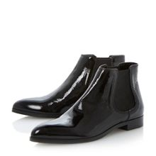 Pedlow pointed flat chelsea boots