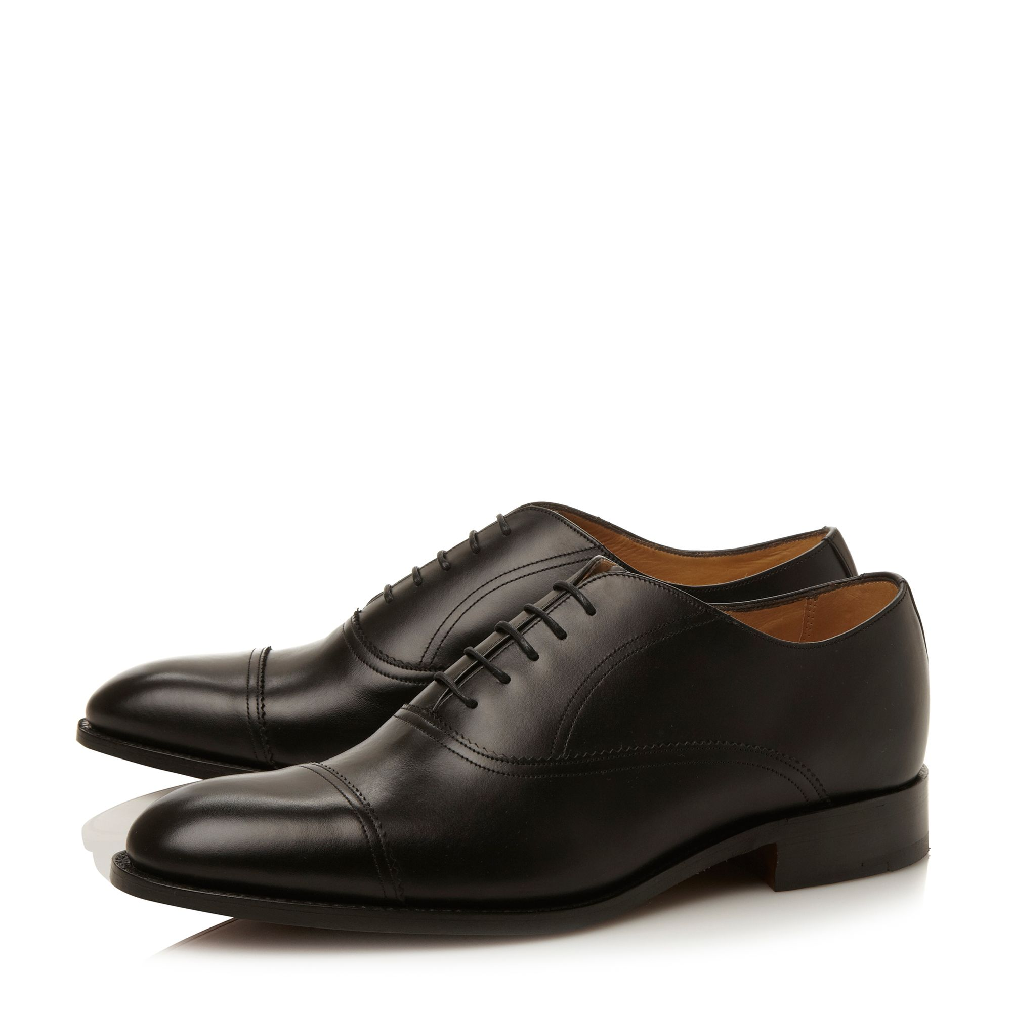 Nevis toecap gimped oxford shoes