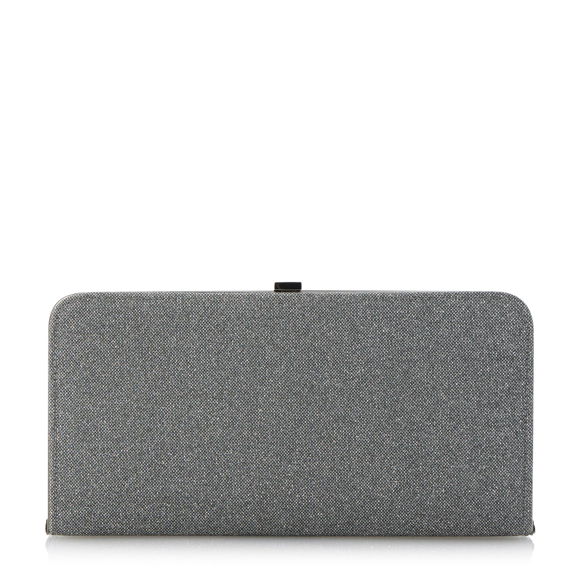 Bexy lurex clutch bag