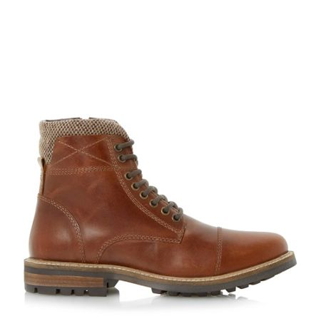 Linea Carter lace up worker boots