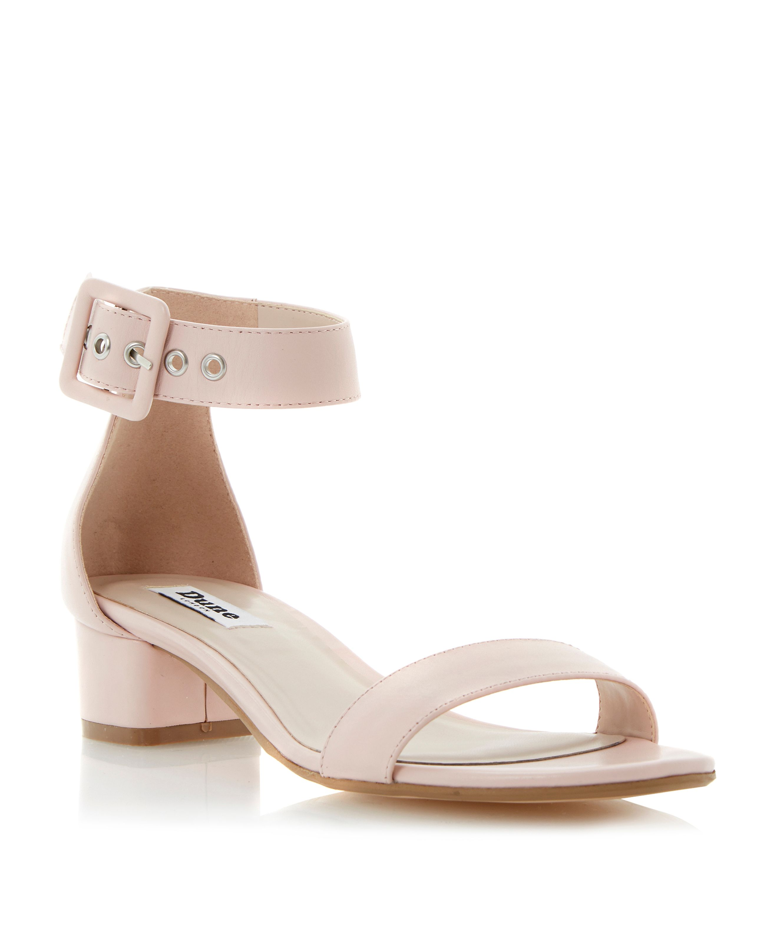 Frann two part block heel sandals