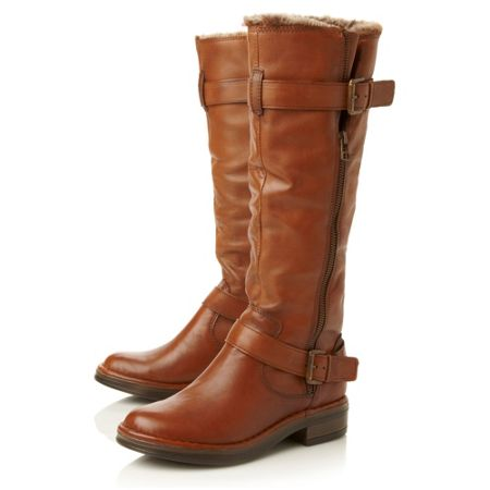 Dune Tooding Fur Lined Boots