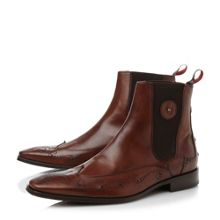 Jeffery West J799 wingtip chelsea boots