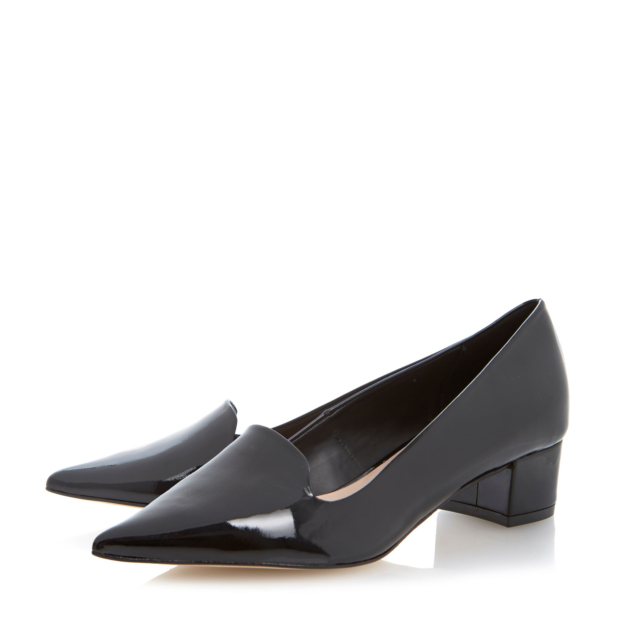 Affina medium wedge pointed court shoes