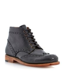 Pollard goodyear welted ankle boots