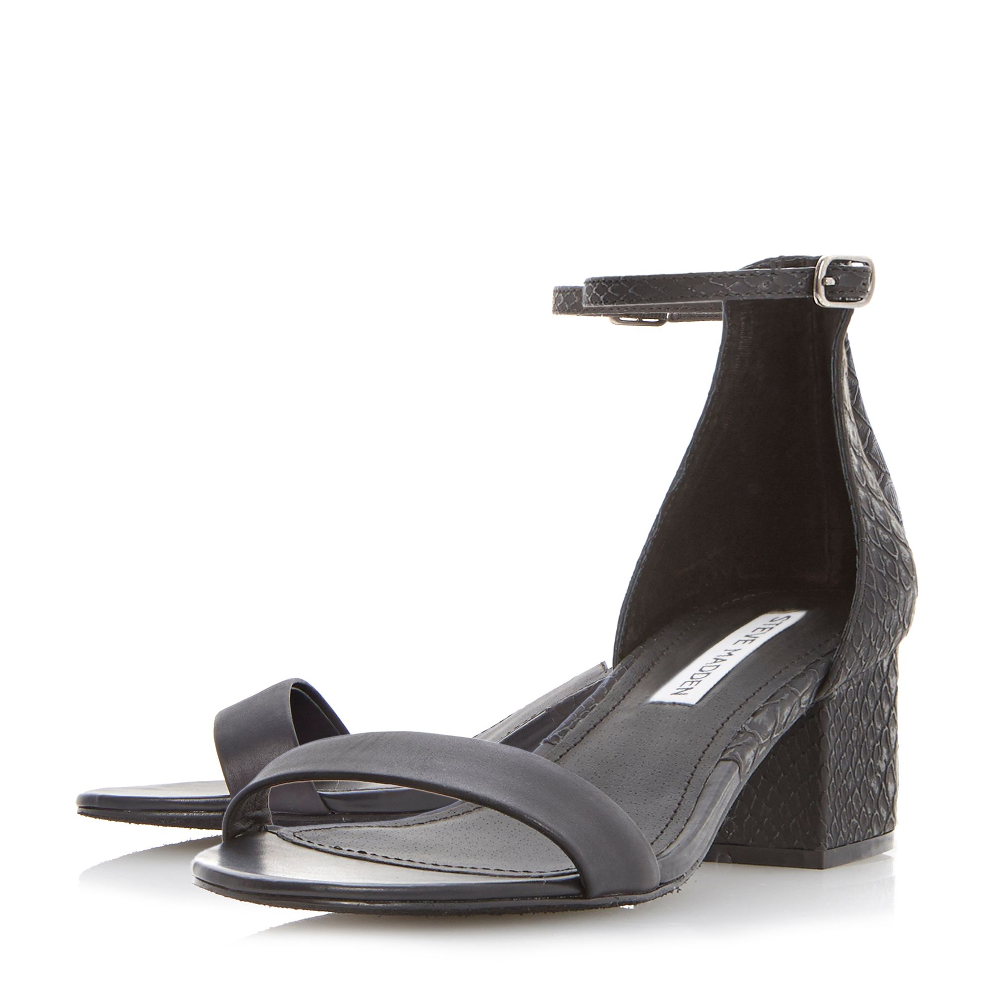 Ideaal sm two part heeled sandals