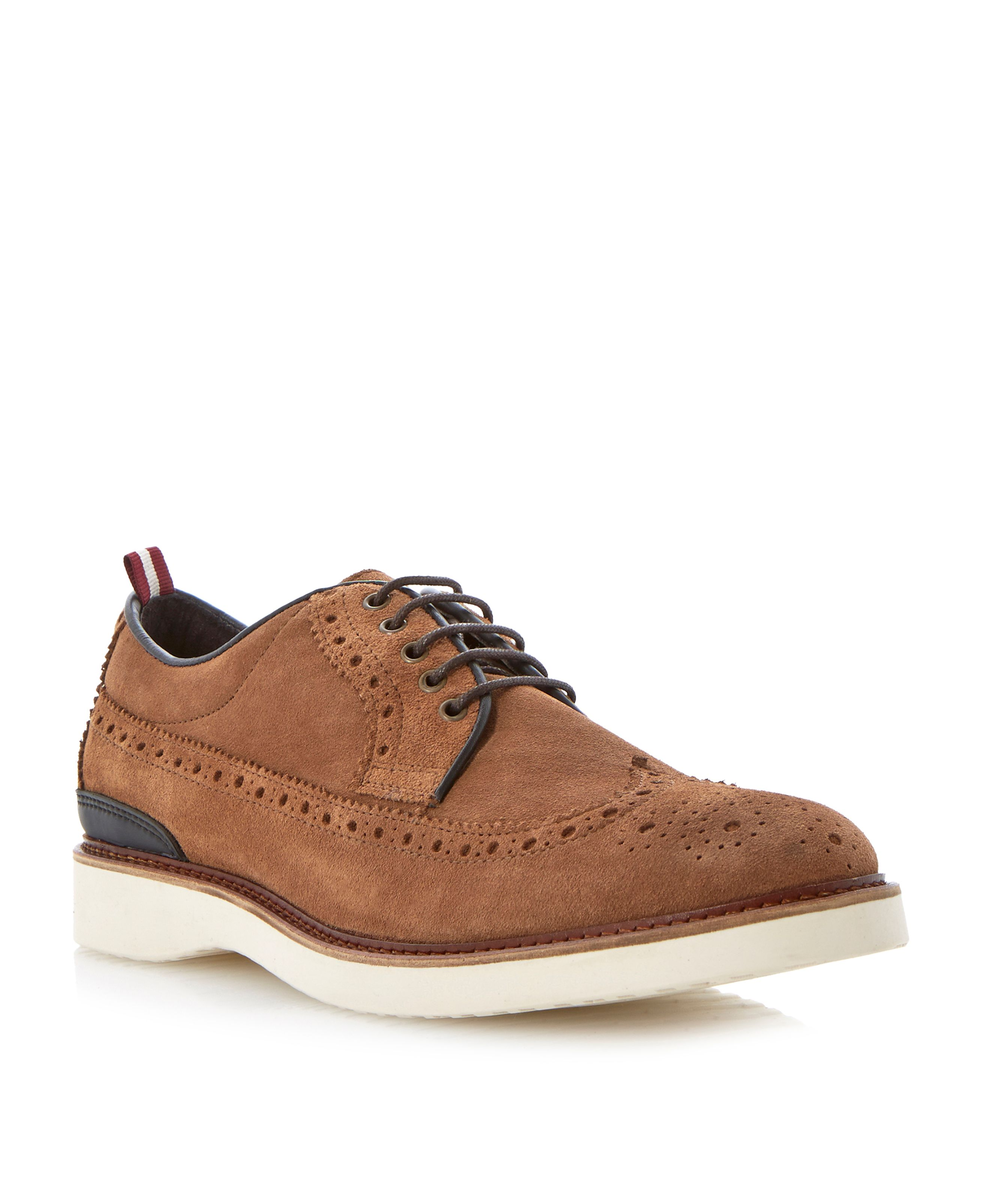 Beat it wedge sole lace up brogues