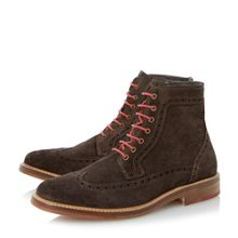 Bertie Cambridge heath colour pop brogue boots