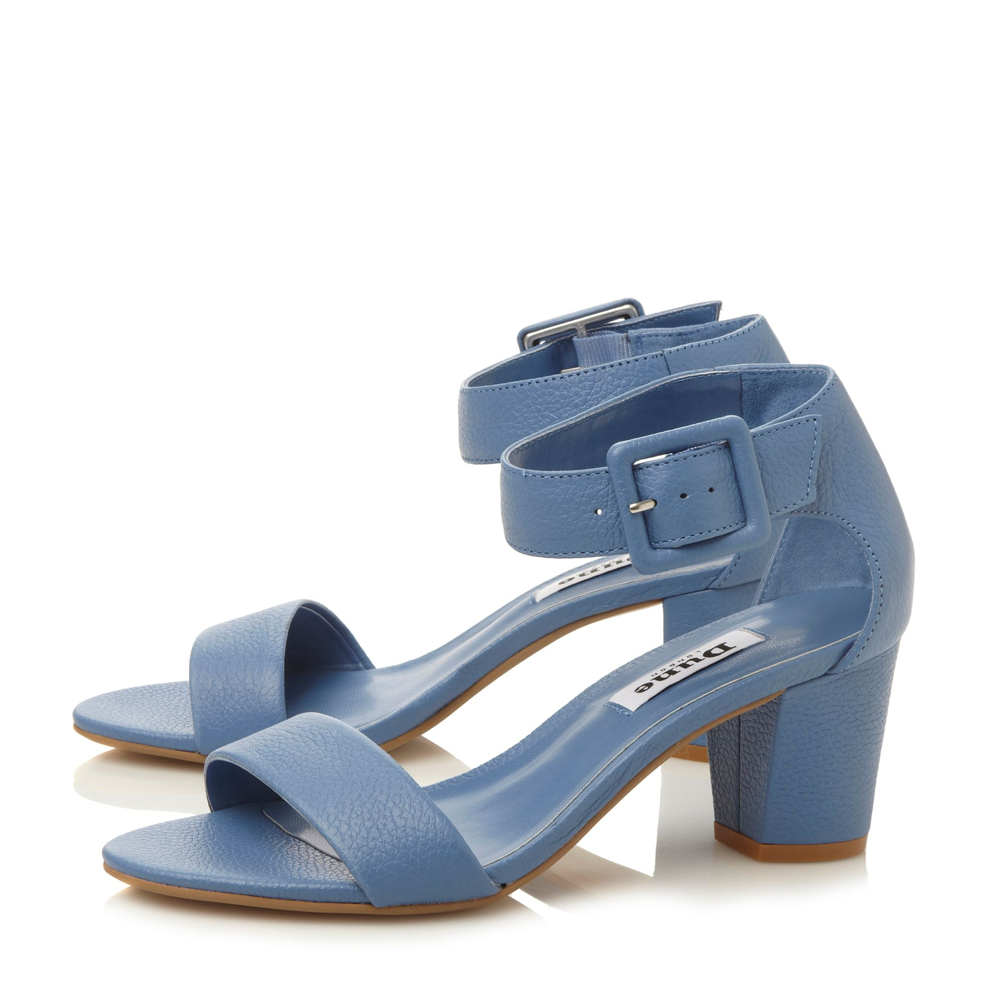 Fri two part low heel sandals