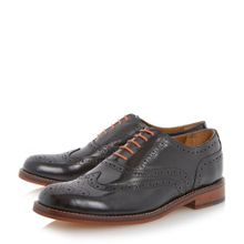 Bertie Braxton hi shine lace up brogues