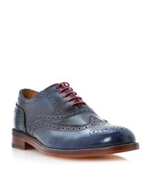 Braxton hi shine lace up brogues