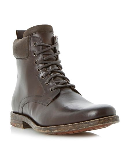 bertie camouflage lace up casual biker boots house of fraser