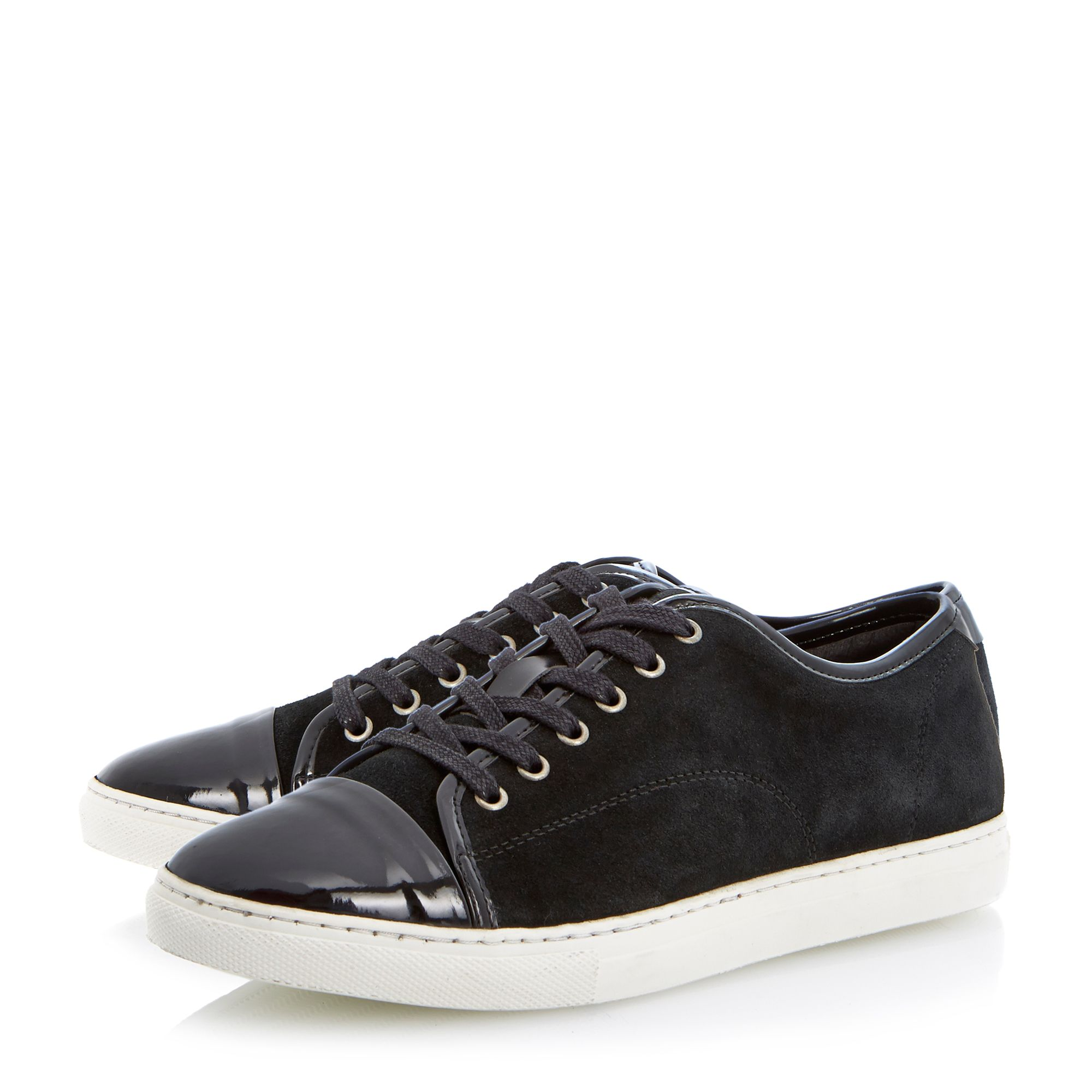 Tickle sleek profile lace up trainers