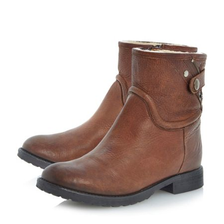 Bertie Pardew Leather Ankle Boot