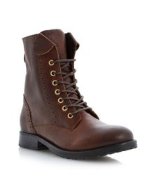 Puggle Leather Ankle Boot