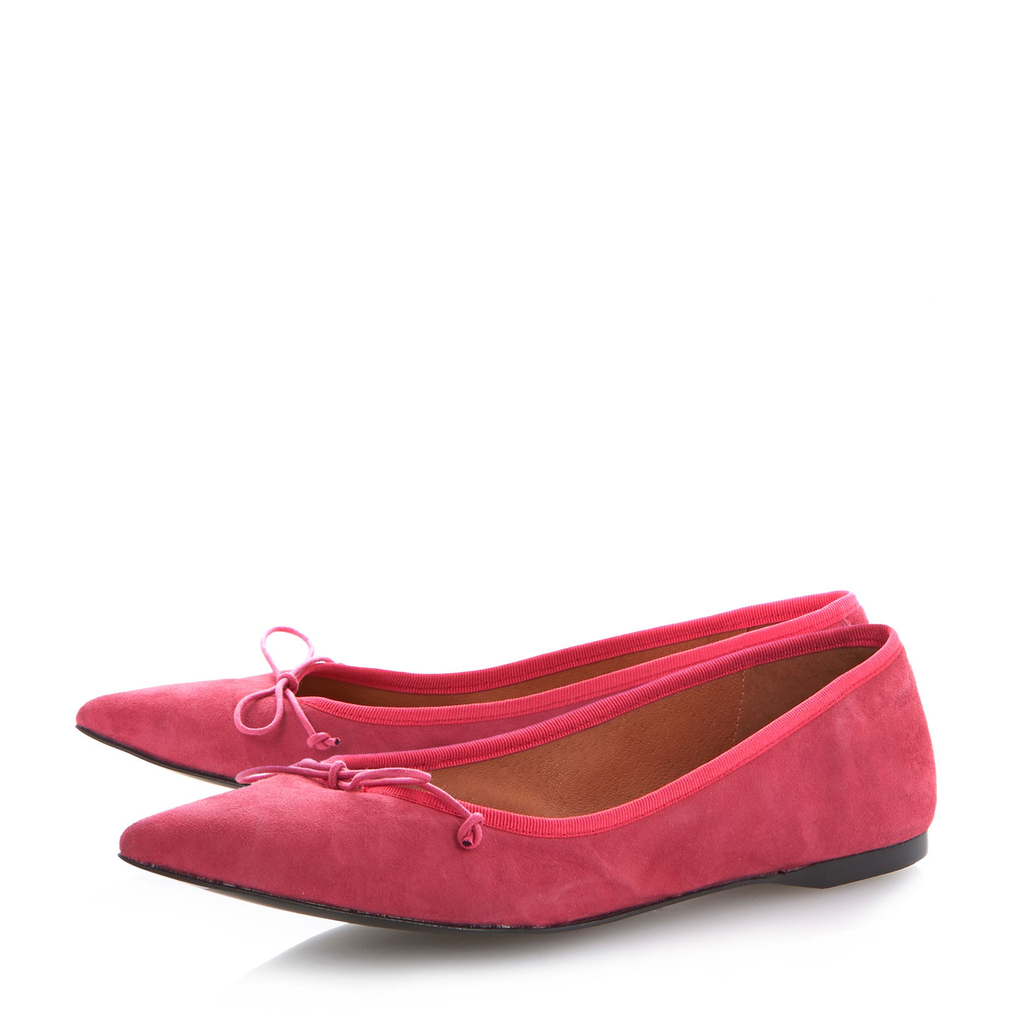 Makeda pointed toe ballerinas