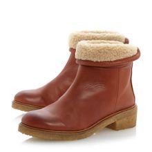Purley crepe sole ankle boots