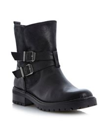 Pobby Sole Buckle Ankle Boot