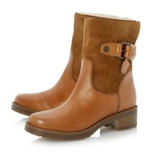 Rasberry Pull-On Calf Boot