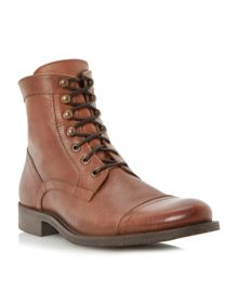 Canada clean toecap lace up boots