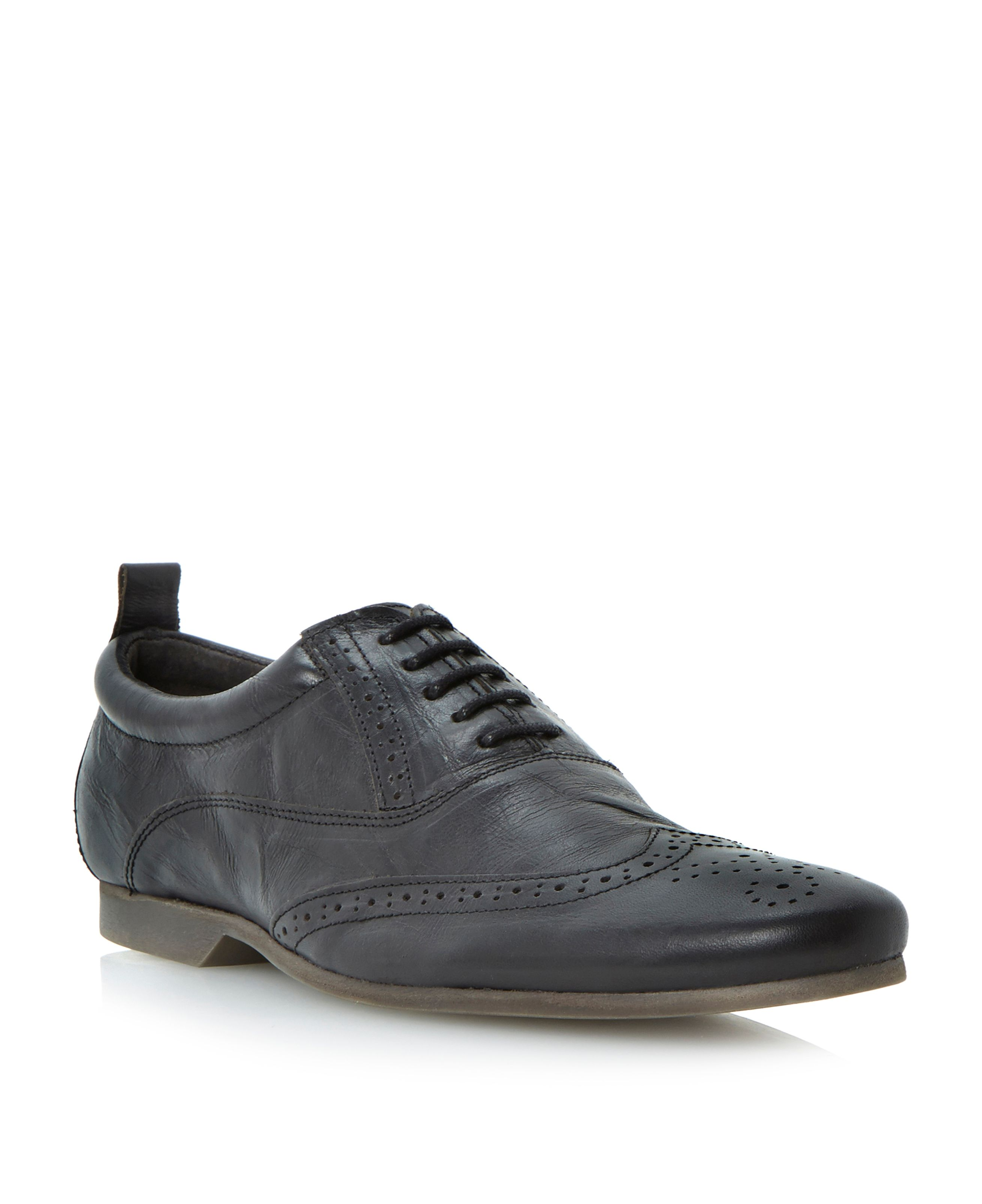 Robbie flexi sole wingtip oxford lace up shoes