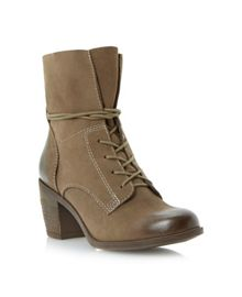 Gretchun Lace Up Ankle Boot