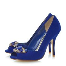 Damzelle Embellished Court Shoe
